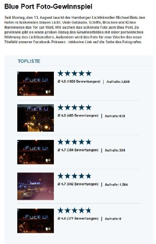 blueport topliste